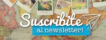 Suscribite al newsletter